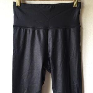 861265f98a3a1 Sweaty Betty Pants - Sweaty Betty Black Frey Wet Look Luxe Leggings